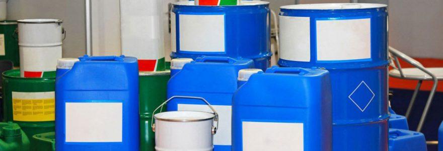 produits chimiques et matières premières