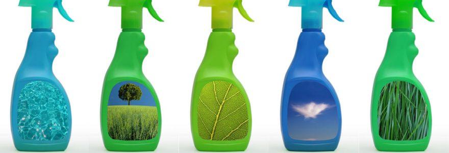 produits d'entretien ménager écologiques