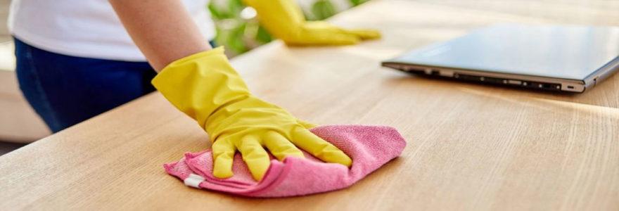 textiles dans les prestations de nettoyage
